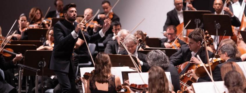 Antonio Méndez dirige La Grande de Schubert con la Sinfónica de Tenerife