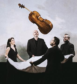 Cuarteto Quiroga-Concierto 16 Temporada 2021-2022 Sinfonica de Tenerife