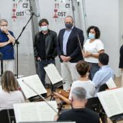 Ensayo en Tenerife con Victor Pablo Perez-Sinfonica de Tenerife
