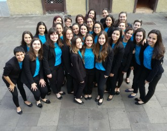 Coro Femenino del Conservatorio Profesional de Tenerife . Sinfónica de Tenerife