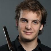 Flautista solista Sebastian Jacot - Sinfónica de Tenerife.