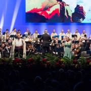 La Sinfónica de Tenerife y Los Sabandeños reviven 'La leyenda de Gara y Jonay' en La Gomera