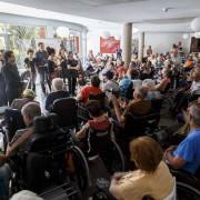La Sinfónica de Tenerife acerca la música de Boccherini y Mozart a centros sociales de la Isla