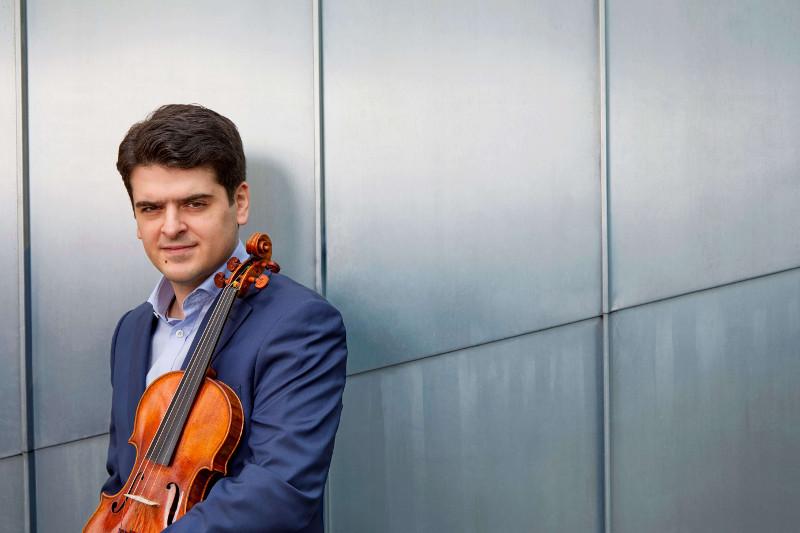 Violinista Michael Barenboim. Sinfónica de Tenerife
