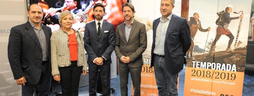 El Cabildo presenta la temporada 2018-19 de la Orquesta Sinfónica de Tenerife