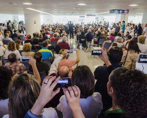Concierto solidario en el Hospital Universitario de Canarias