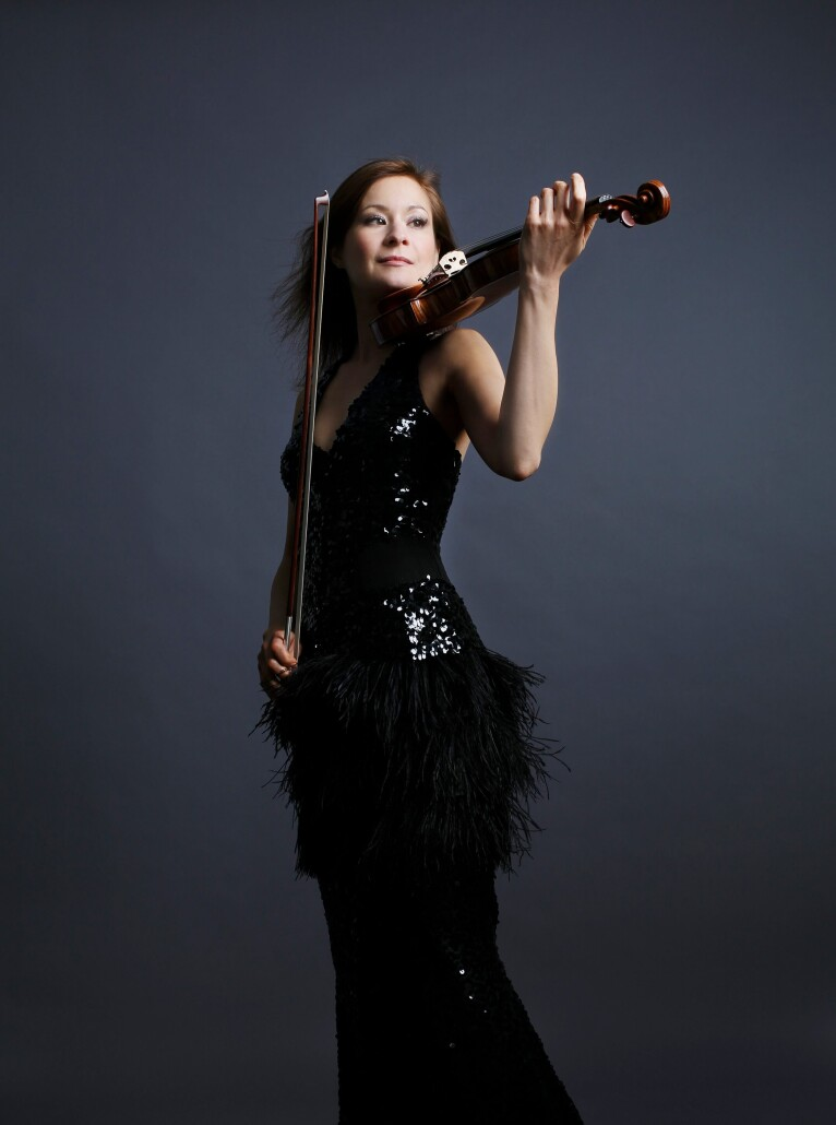 Solista Arabella SteinbacherSinfonica de Tenerife-Temporada 2020-2021