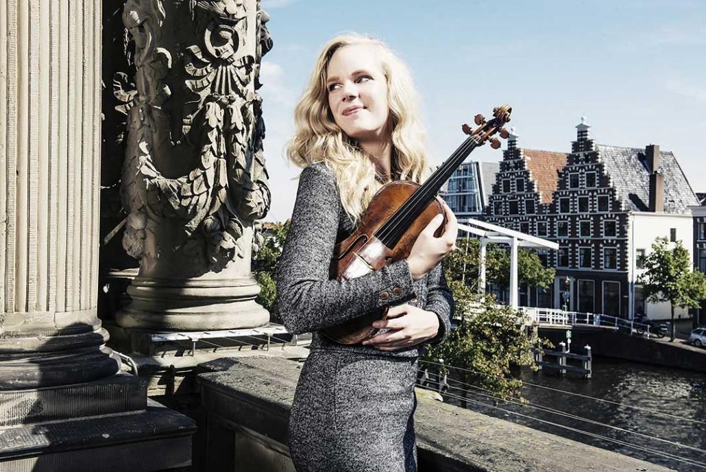 Violinista Simone Lamsma
