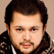 Celso Albelo, tenor nacido en Tenerife, fotografiado en Barcelona, junio 2011